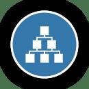 Secure Data Destruction Chain of Custody Icon