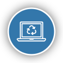 eWaste ePlanet Electronics Recycling Data Destruction ITAD Atlanta Electronics Refurbishment Icon